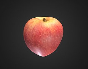3D red-apple