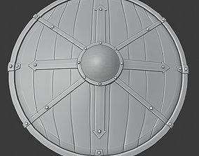viking shield 4 3D print model