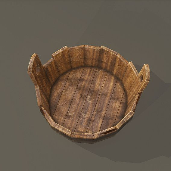 Medieval Wash Bucket