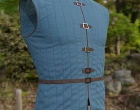 realtime 3D Medieval Jacket