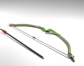3D Bow and Arrow - Recurve