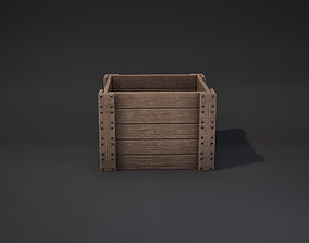 Crate Game-Ready 3D model