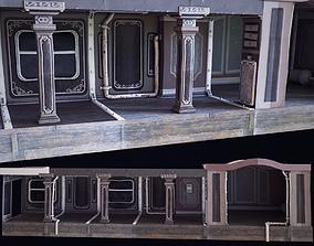 3D model Game-Ready Corridor