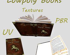 3D asset Fairy Tales Book
