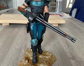 Cara Dune the Mandalorian Season 2 3D printable model