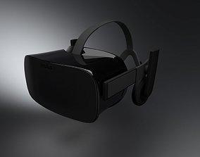 technology Oculus Rift CV1 3D Model