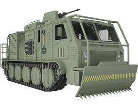 3D model Military Truck Concept 1