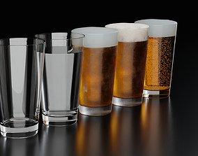 Beer Glass 12 3D