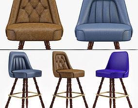 3D model Bar Stool Richardon Seatings 3