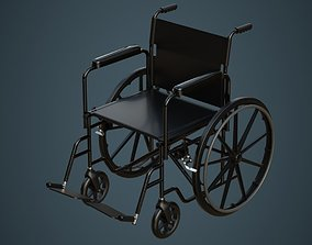 3D Wheelchair 1 Untextured