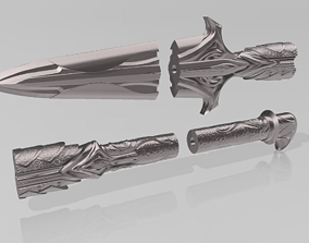 Leonidas Spear Cosplay Prop File for 3D Printing