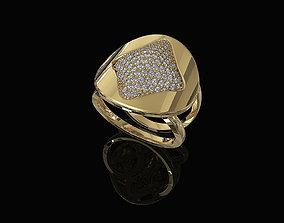 3D printable model Brilliant Stylish Ring