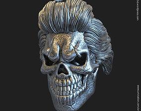 Skull Bearded vol4 Pendant jewelry 3D print model