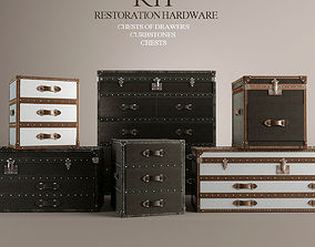 Chest of Drawers Curbstones 3D