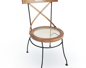 3D Luberon Wooden Chair