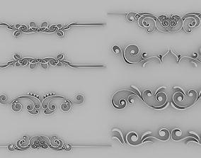 3D model Divides 02 - Set of 8 Varitions