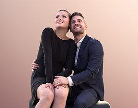 Sheona Tony 10628 - Couple Sitting 3D model
