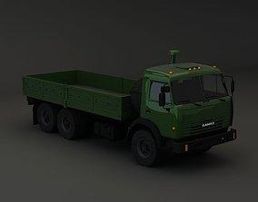 3D model Kamaz Modify 6x4 KZ