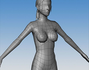 3D model Female Character 03