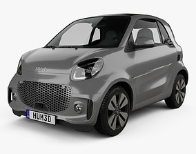 3D model Smart ForTwo EQ Prime coupe 2020