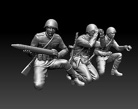 ussr soldiers mosin 3D print model