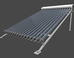 solar collector 2 3D