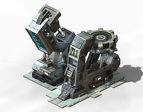 Machinery - Spacecraft - Functional Objects 019 3D model