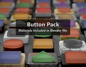 3D Button Pack 6 Shapes Endless Possibilities
