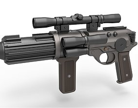 3D model Carbine Rifle EE-4 from the game Star Wars