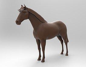 3D print model Horse riding