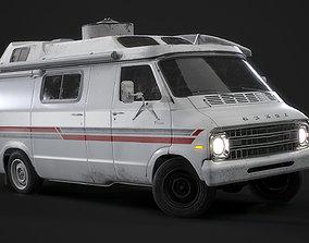 1967 Dodge Tradesman B100 Games Model 3D asset