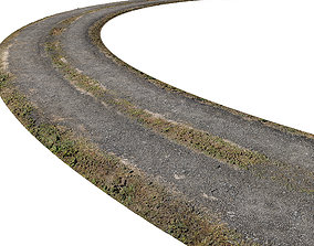 Ultra realistic Road Scan 3D model