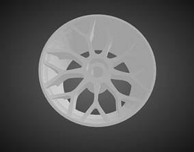 3D print model Forgiato Tessi rims for Hot Wheels