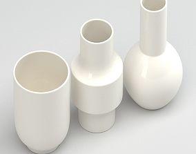 3D Vase column