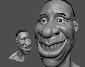 3D print model big smile