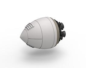 3D printable model Diecast Fantasy rocket engine
