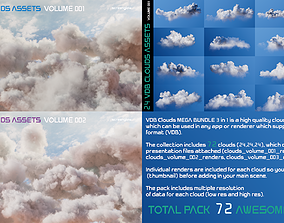 VDB Clouds MEGA BUNDLE 3 in 1 3D