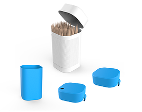 Toothpicks Container 3D print model