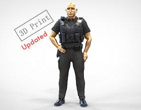 N1 American Police Officer 3D printable model