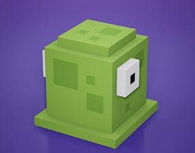 3D asset Voxel - Green Goo