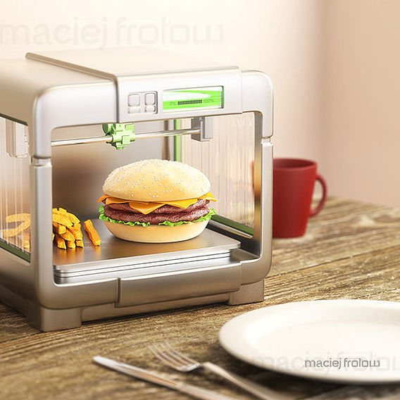 3D printing of food at home