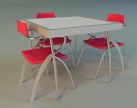 desk 3D model Table