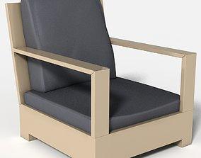 3D armchair Lounge A Belvedere