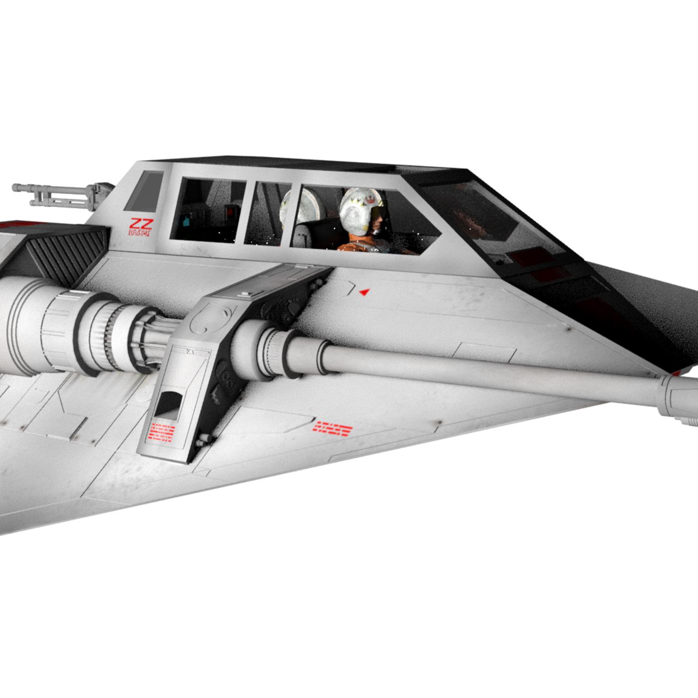 Star Wars Rebel Snow Speeder