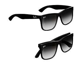 RayBan Sunglass Justin classic 3D