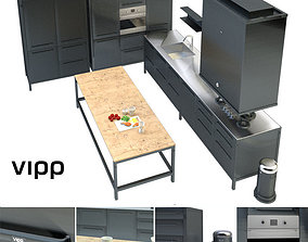 3D Vipp kitchen