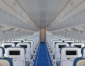 3D model Airplane Cabin