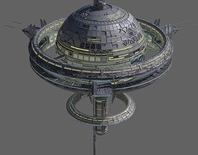 architecture Space Station 3D