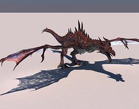 Dragon 3D rigged