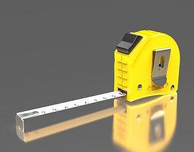 Tape Measure 3D model strip